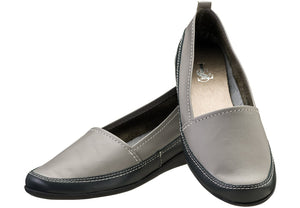 Grey Zoey Loafer