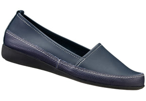 Navy Zoey Loafer