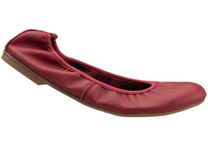 Red Elasticated Pump