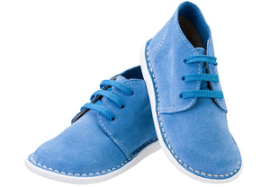 Blue Lace-up Vellie