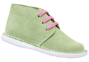 Lime Lace-up Vellie
