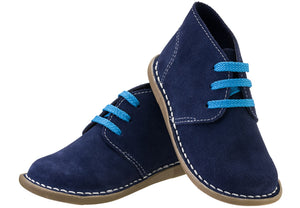 Navy Lace-up Vellie