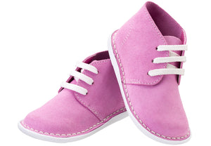 Pink Lace-up Vellie