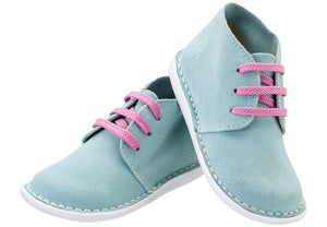 Teal Lace-up Vellie