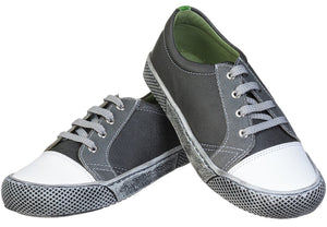 Boys' Lace-up Sneaker - Charcoal