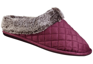 Quilted Low Back Mule