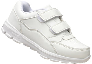 Boys' Velcro Trainer in white for boys