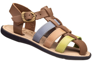 Leather Closed Toe Sandal for boys