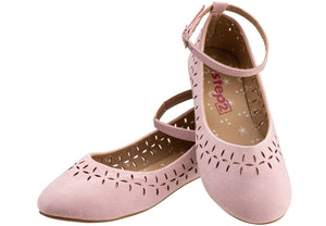 Suede Ballet Pump for girls