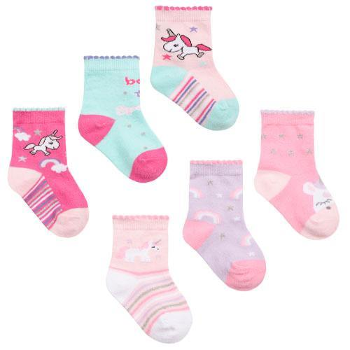 Baby Girls 3 Pack Unicorn Socks | Oscar & Me - Children's Clothing