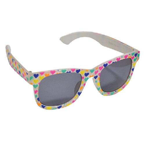 Girls Heart Print Sunglasses | Oscar & Me - Children's Clothing