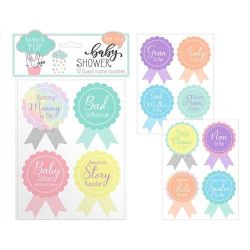 Baby Shower Guest Stickers | Oscar & Me - Children's Clothing