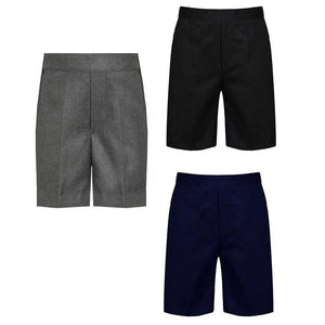 School Pull Up Teflon Shorts | Oscar & Me - Children's Clothing