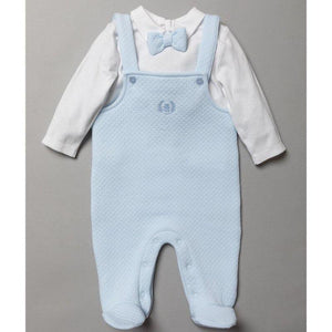 Baby Boys Quilted Dungaree Outfit
