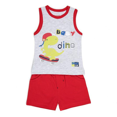 Baby Boys Dino Two Piece Outfit | Oscar & Me - Children's Clothing