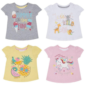 Baby Girls Printed T-Shirts | Oscar & Me - Children's Clothing