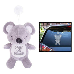 Baby on Board Car Window Sign | Oscar & Me - Children's Clothing