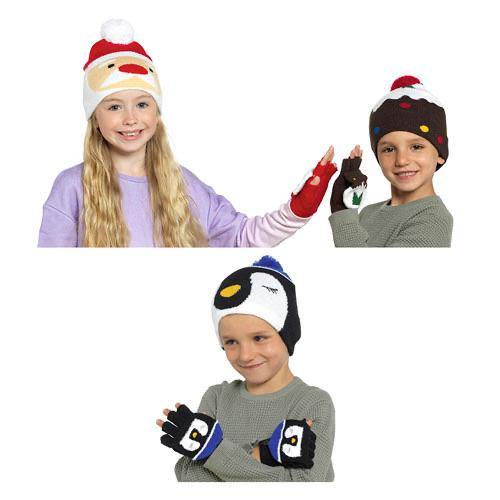 Christmas Hat & Gloves Set | Oscar & Me - Children's Clothing