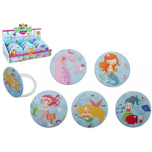 Girls Mermaid Compact Mirror | Oscar & Me - Children's Clothing