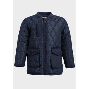 Baby Boys Diamond Quilted Jacket - Oscar & Me