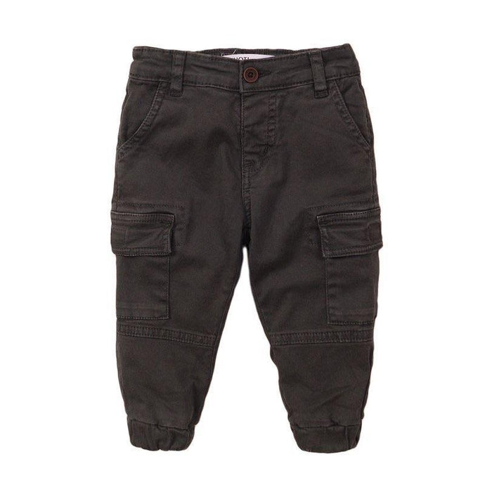 Boys Black Combat Trousers