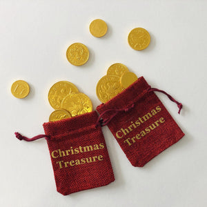 Christmas Treasure Pouch | Oscar & Me - Children's Clothing