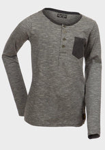 Boys Contrast Pocket Long Sleeve Top | Oscar & Me - Children's Clothing
