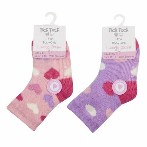 Baby Girls Gripper Socks