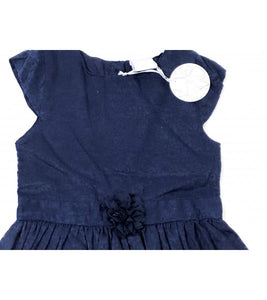 Girls Navy Blue Dress | Oscar & Me - Children's Clothing