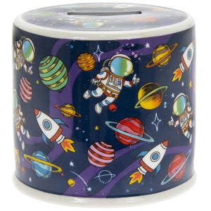 Spaceman Money Box | Oscar & Me - Children's Clothing