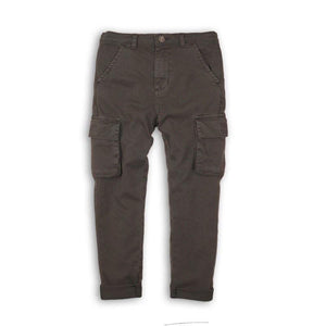 Boys Washed Cargo Pants