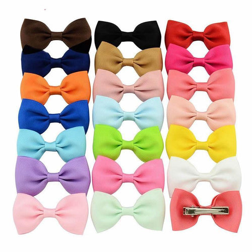 Satin Ribbon Bow | Oscar & Me - Children's Clothing