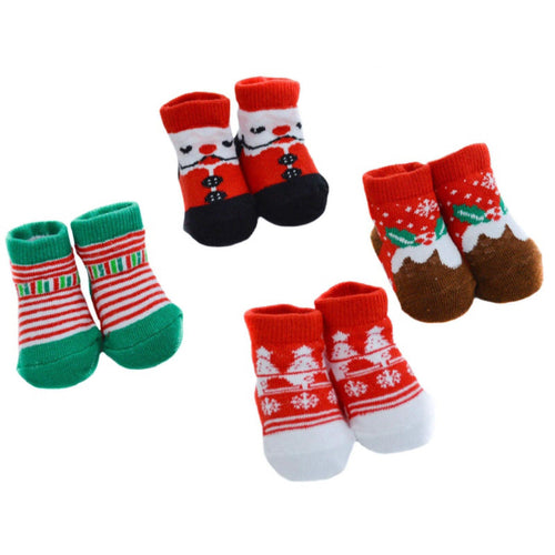 Baby Christmas Socks | Oscar & Me - Children's Clothing