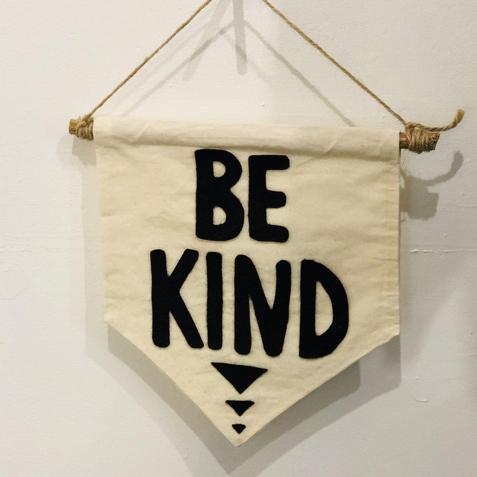 Be Kind Banner | Oscar & Me - Children's Clothing