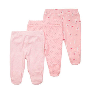 Baby Girls 3 Pack Leggings
