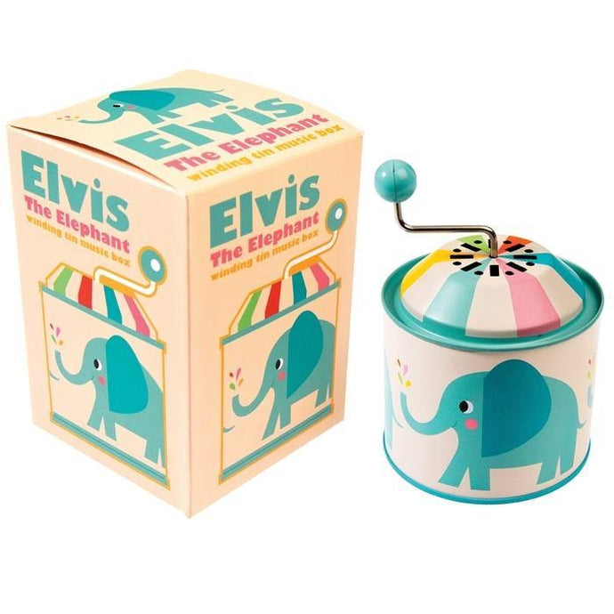 Elvis The Elephant Music Box | Oscar & Me - Children's Clothing