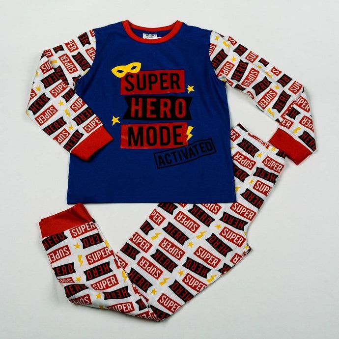 Boys Super Hero Pyjama | Oscar & Me - Children's Clothing