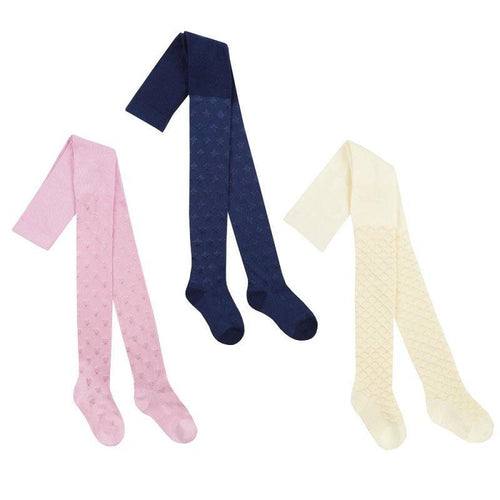 Girls Textured Nylon Tights | Oscar & Me - Children's Clothing