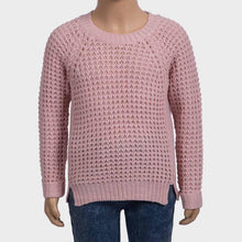 Girls Waffle Stitch Jumper | Oscar & Me - Children's Clothing
