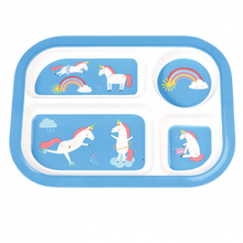 Unicorn Melamine Tray