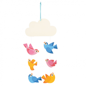 Baby Bird Mobile - Oscar & Me