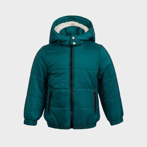 Boys Sherpa Lined Puffa Jacket | Oscar & Me - Children's Clothing