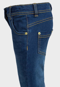 Baby Girls Stretchy Skinny Jeans | Oscar & Me - Children's Clothing