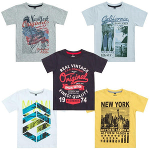 Boys Cargo Bay Boys Printed T-Shirts | Oscar & Me - Children's Clothing