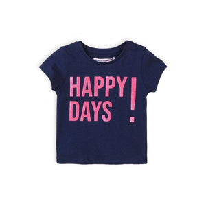 Baby Girls Happy Days T-Shirt