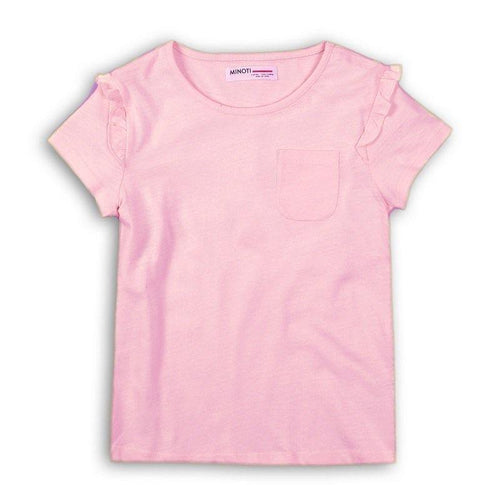 Baby Girls Slub Fairy Pink T-shirt | Oscar & Me - Children's Clothing