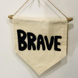 Brave Banner | Oscar & Me - Children's Clothing