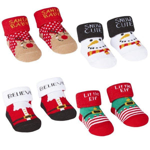 Baby Christmas Gift Socks