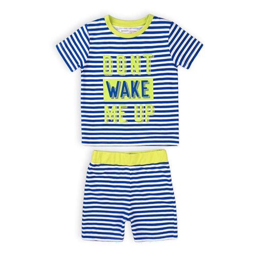 Boys Don't Wake Me Up Shorts Pyjama Set | Oscar & Me | Baby & Children's Clothing & Accessories