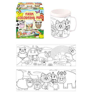 Farm Colouring Mug